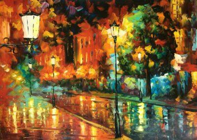 Paris-rain