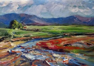 Artem mountain painted 2