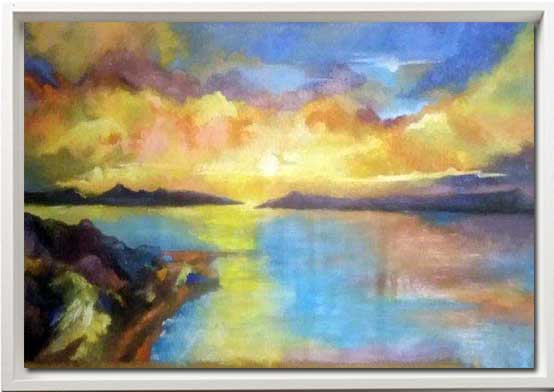 Bay Painting