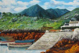 Glengarriff Impressionist Oil Painting