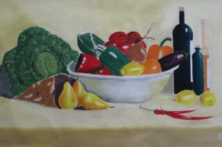 Kitchen painting, Still LIfe
