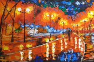 Irish OIl Painting